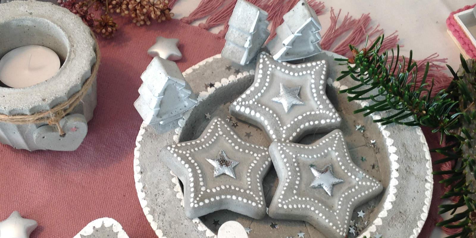 weihnacht deko beton 03 kunst aus beton. Black Bedroom Furniture Sets. Home Design Ideas